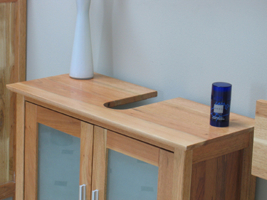 6tlg badezimmer badm bel sylt schrank spiegel walnuss massiv ebay. Black Bedroom Furniture Sets. Home Design Ideas
