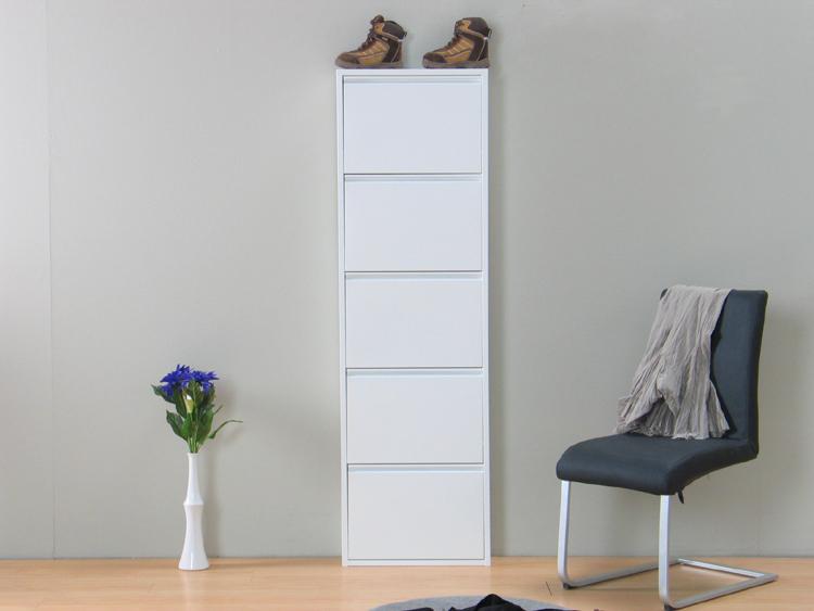 xxl schuhschrank schuhkipper plaza wei metall 5 kipper. Black Bedroom Furniture Sets. Home Design Ideas