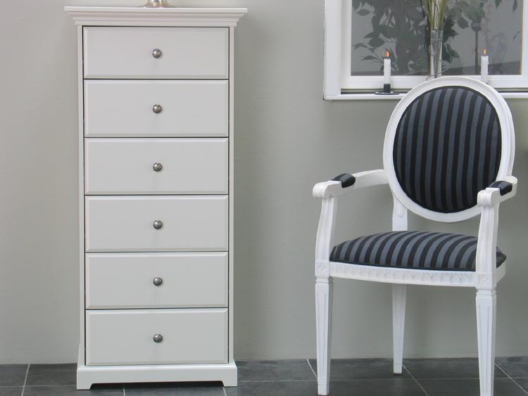 kommode nice schrank sideboard mit 6 schubladen neu ebay. Black Bedroom Furniture Sets. Home Design Ideas
