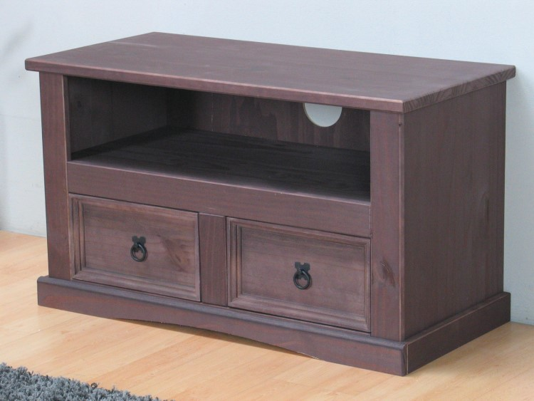 Mexico TV Hifi Table New Mexico 2 Drawers TV cabinet Wardrobe colonial  eBay -> Tv Hifi Sideboard