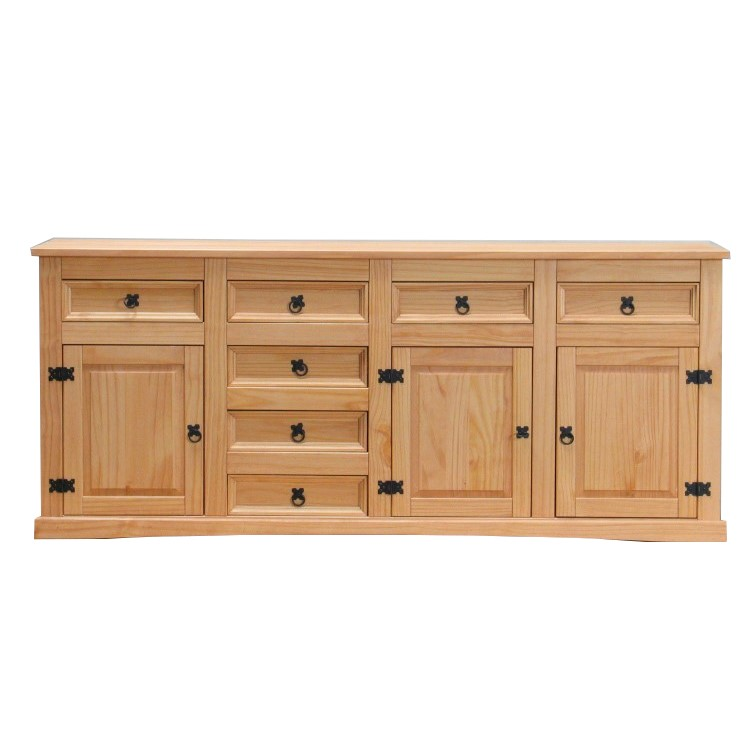 Sideboard new mexiko massiv mexico anrichte buffet schrank for Sideboard natur