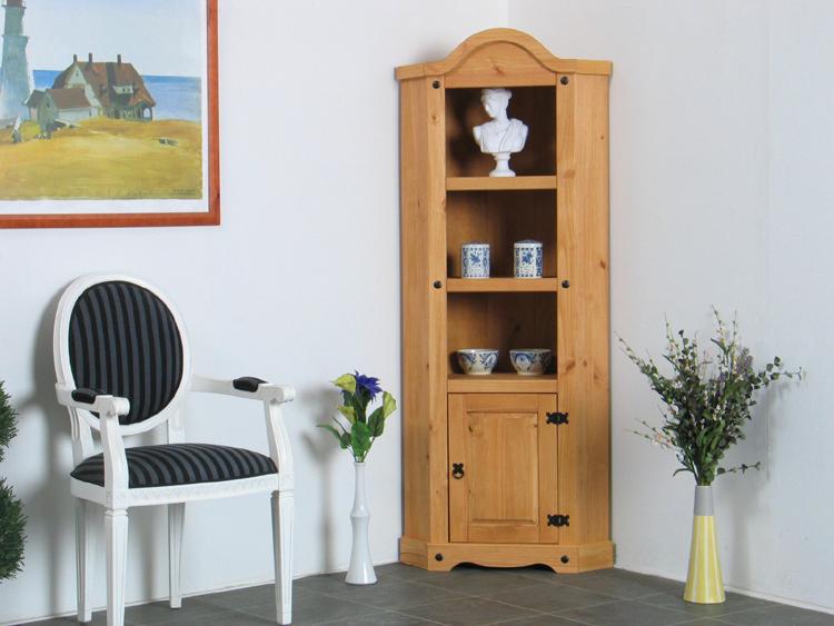 eckschrank mexico schrank tex massiv kiefer neu ebay. Black Bedroom Furniture Sets. Home Design Ideas