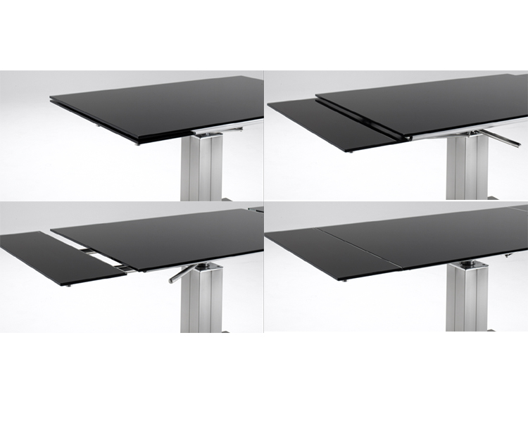 Apollo Esstisch Doris ~ Glas Esstisch Apollo Tisch ausziehbar Esszimmertisch  eBay
