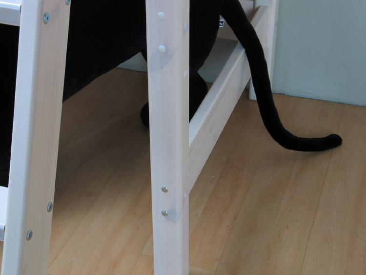 hochbett flexi bett 90x200 kiefer massiv lattenrost 4 kissen kinderbett neu ebay. Black Bedroom Furniture Sets. Home Design Ideas