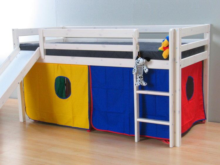 4tlg thuka stoff vorhang set h hle spielh hle zubeh r. Black Bedroom Furniture Sets. Home Design Ideas