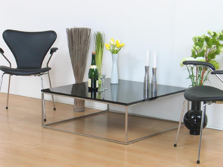 couchtisch bernd beistelltisch schwarz hochglanz tisch ebay. Black Bedroom Furniture Sets. Home Design Ideas