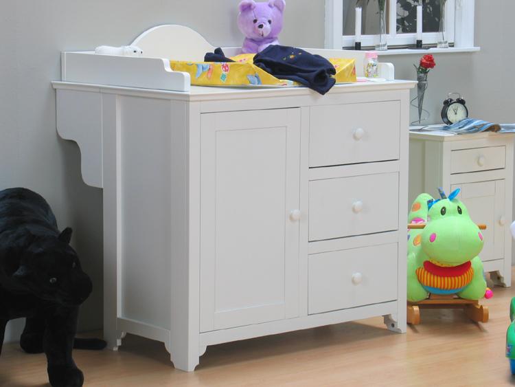 wickeltisch roomate wickelkommode wickelaufsatz kinderzimmer kommode weiss ebay. Black Bedroom Furniture Sets. Home Design Ideas