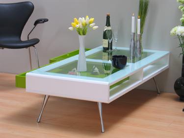 Perfect Latest Sie Erhalten Den Tisch Ohne Deko With Couchtisch Wei Glas  Schublade With Couchtisch Mit Glaseinsatz