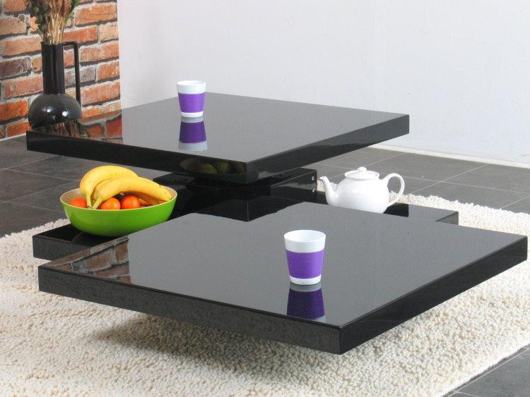 Design Beistelltisch Tisch Seeland Couchtisch Grau Rund 48