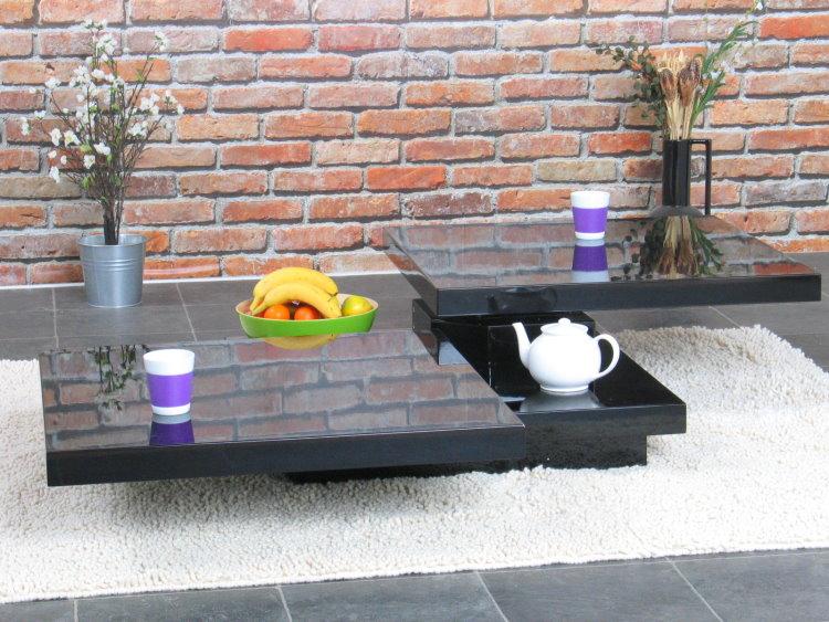 Design Couchtisch 80×120 Wohnzimmer Sofa Tisch