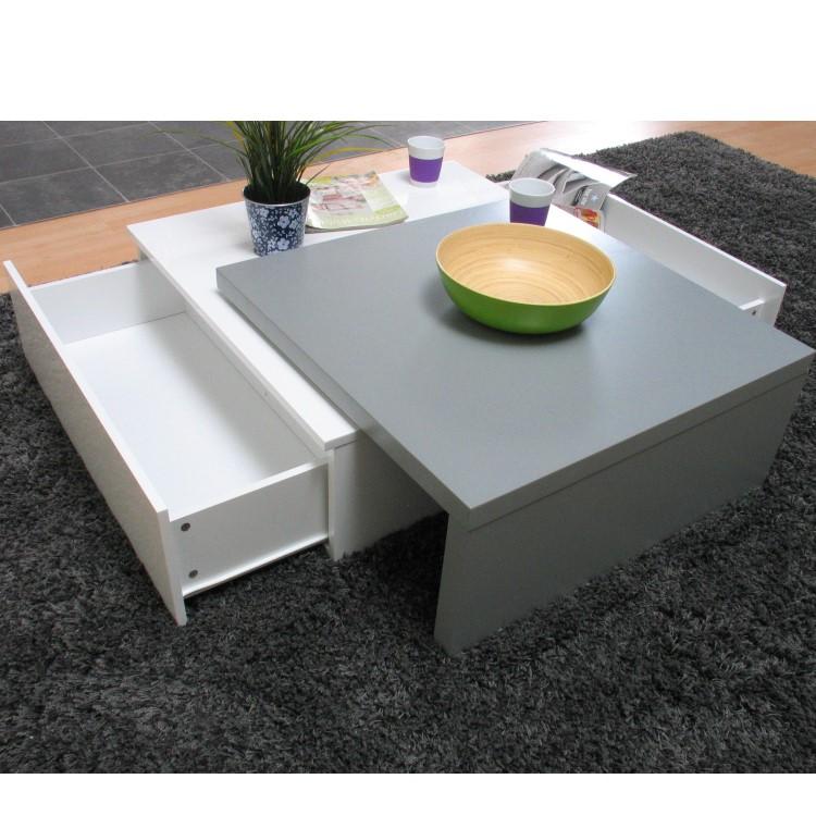 tisch itai couchtisch ausziehtisch stauraum 2 schubladen beistelltisch m bel ebay. Black Bedroom Furniture Sets. Home Design Ideas