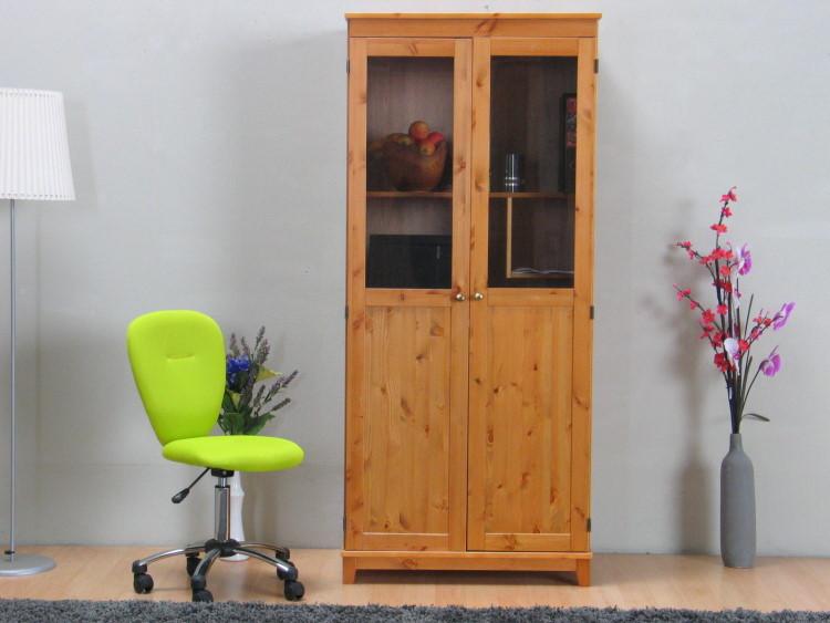 schreibtisch manhattan pc computer schrank kiefer massiv gebeitzt lackiert neu ebay. Black Bedroom Furniture Sets. Home Design Ideas