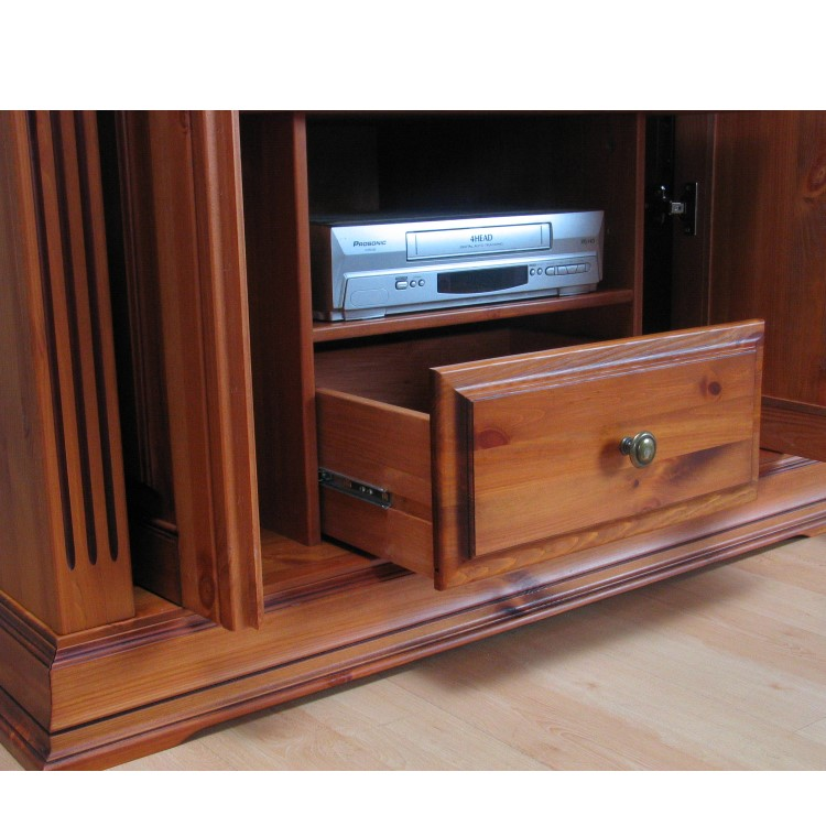 fernseh schrank gusthof phono tv hifi media m bel. Black Bedroom Furniture Sets. Home Design Ideas