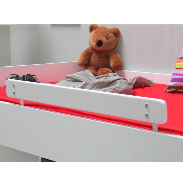 Bett MARIANNE Bettschutzgitter Schutzgitter Kinderbett weiß  eBay