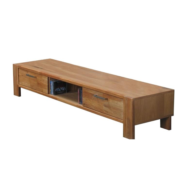 tv board mark tv lowboard massiv eiche m bel wohnen. Black Bedroom Furniture Sets. Home Design Ideas