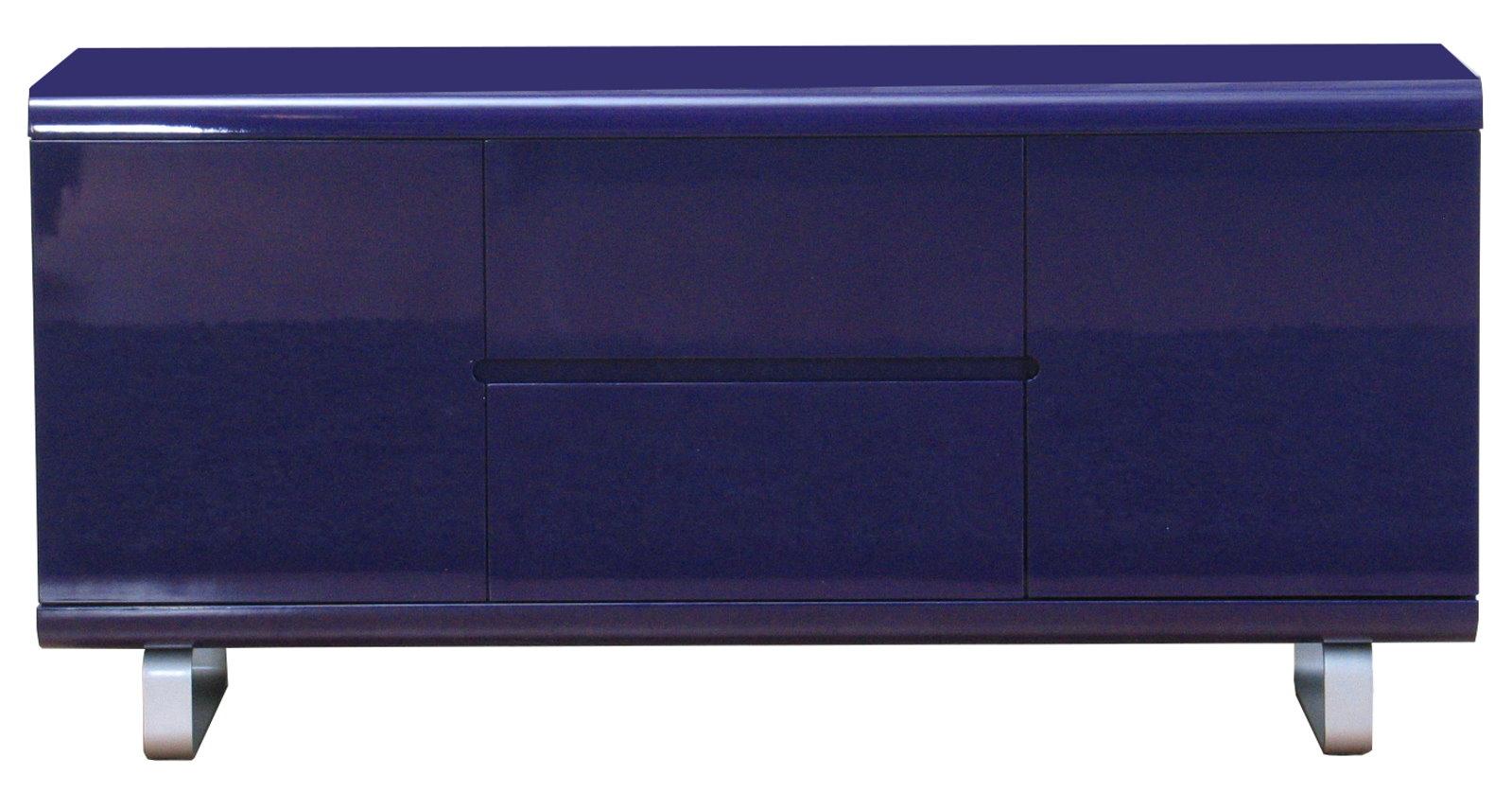 Sideboard spacy kommode anrichte highboard buffet schrank for Sideboard lila hochglanz