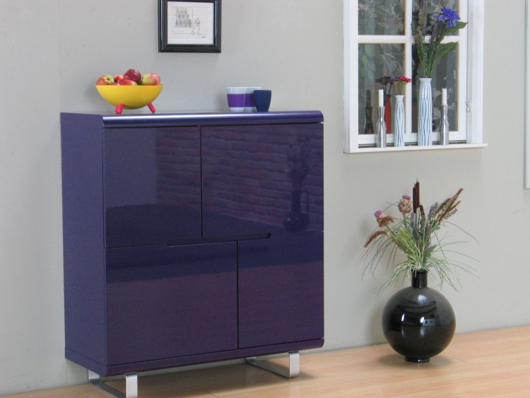 highboard spacy sideboard kommode anrichte buffet schrank. Black Bedroom Furniture Sets. Home Design Ideas