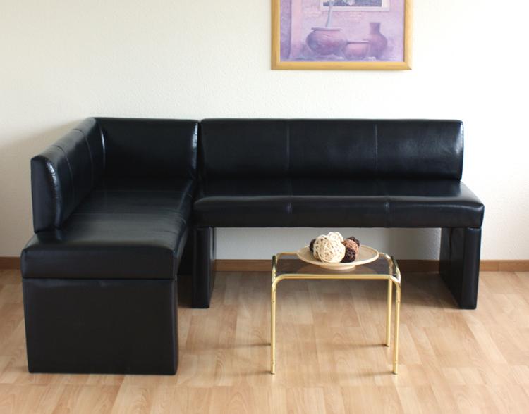 eckbank bank sitzbank essecke kunstleder 180x130cm neu ebay. Black Bedroom Furniture Sets. Home Design Ideas