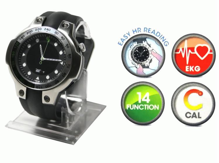 149-Sportourer-Uhr-Touch-Beat-Chronograph-Sportuhr-Pulsuhr-Herzfrequenzmesser