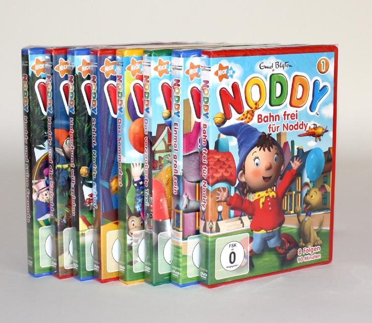 noddy 1 8 dvd sammlung kinderfilme enid blyton serie filme. Black Bedroom Furniture Sets. Home Design Ideas