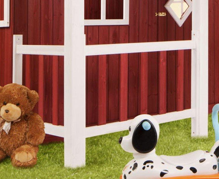holz kinder spielhaus ida schwedenhaus holzhaus gartenhaus haus kinderhaus rot ebay. Black Bedroom Furniture Sets. Home Design Ideas