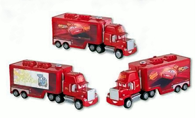 mattel disney cars 2 deluxe mack kinder spielzeug. Black Bedroom Furniture Sets. Home Design Ideas