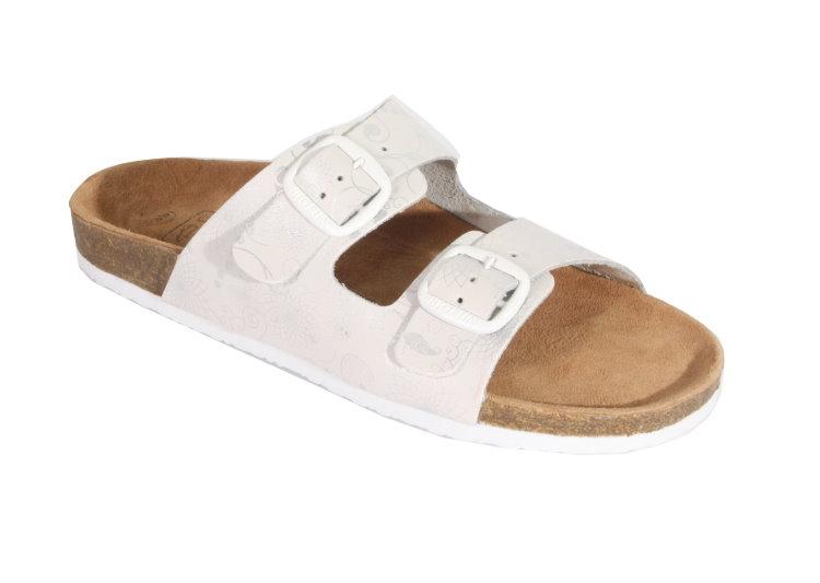 damen echtes leder bio pantoletten sandalen slipper. Black Bedroom Furniture Sets. Home Design Ideas