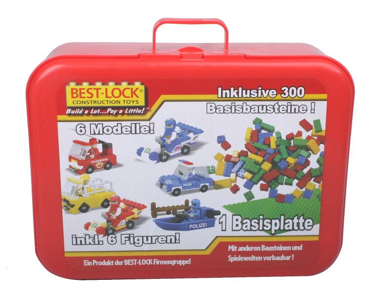 Tlg best lock bausteine set bauklötze spielzeug auto