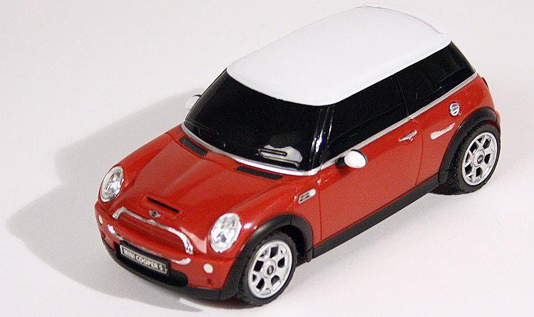rc modell auto mini cooper s mit fernbedienung in rot. Black Bedroom Furniture Sets. Home Design Ideas