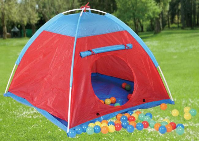 Kinderzelt-Kinder-Zelt-Spielzelt-100-Baelle-Baellebad