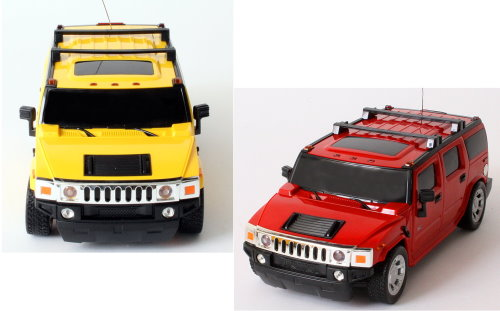 rc modell auto hummer h2 suv mit fernsteuerung mit licht 1. Black Bedroom Furniture Sets. Home Design Ideas