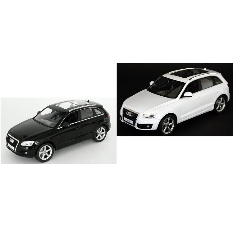 xl rc audi q5 modell auto mit licht ferngesteuert schwarz. Black Bedroom Furniture Sets. Home Design Ideas