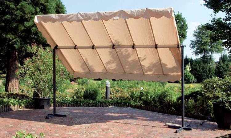 Gartenmobel Grau Streichen :  Markise Standmarkise Cleo Sonnenschutz Pavillon Gartenmöbel  eBay