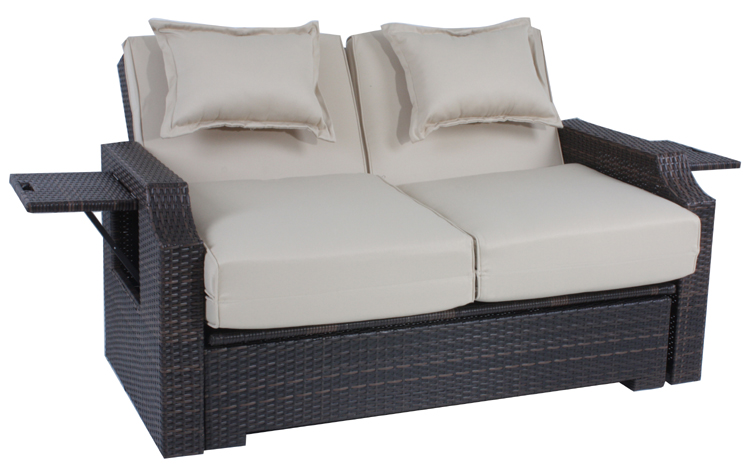 funktionssofa garten sofa couch gartensofa plane neu ebay. Black Bedroom Furniture Sets. Home Design Ideas