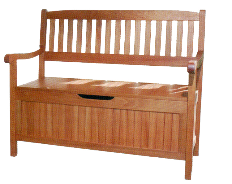 bank gartenbank sitzbank holzbank truhenbank truhe neu ebay. Black Bedroom Furniture Sets. Home Design Ideas