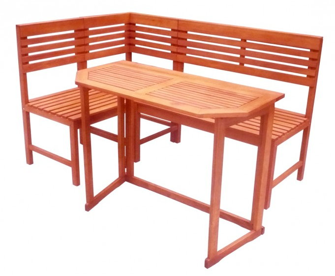 garden pleasure balkon eckbank santa fe gartentisch. Black Bedroom Furniture Sets. Home Design Ideas