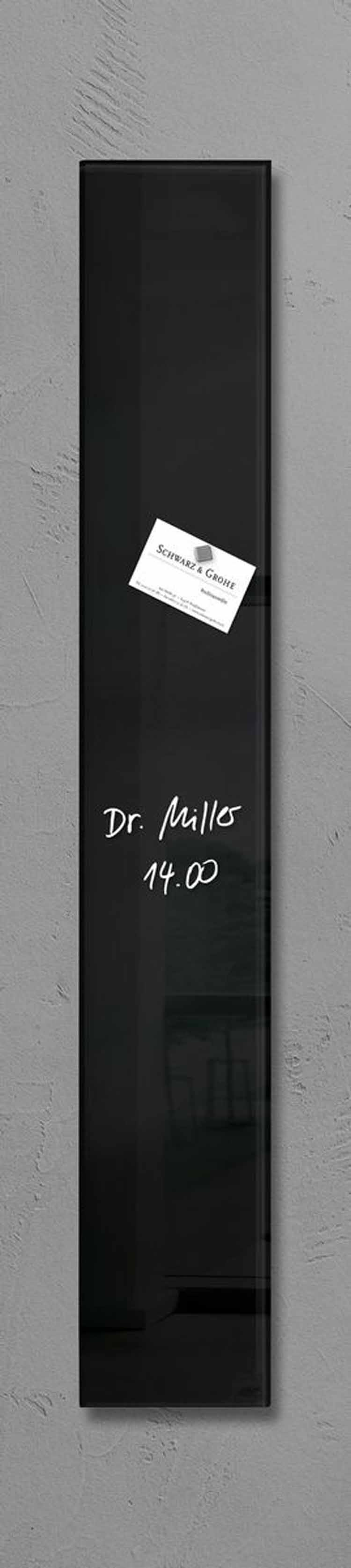 sigel design glas magnetboard 12x78cm magnet magnettafel pinnwand wandboard ebay. Black Bedroom Furniture Sets. Home Design Ideas