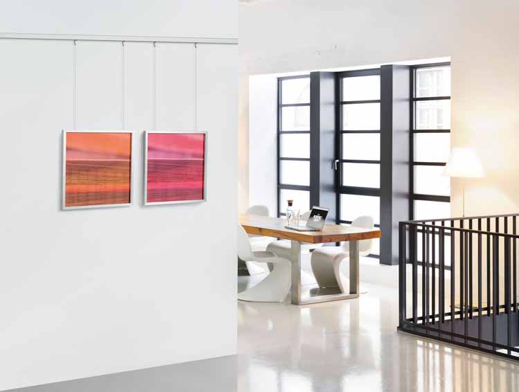 sigel tiefprofil rahmen gallery bold ga302 wechselrahmen foto bilderrahmen alu 40x50 kaufen bei. Black Bedroom Furniture Sets. Home Design Ideas