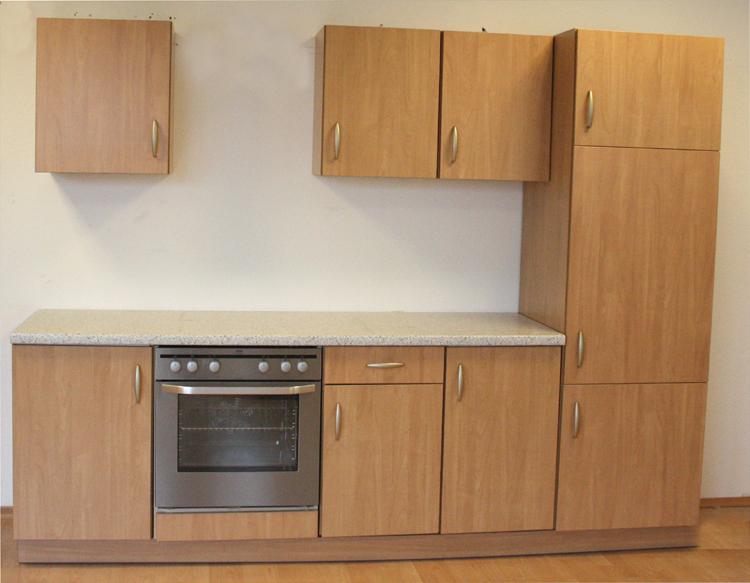 Quelle Qualitätsküche 260cm Küche Küchenblock Küchenzeile Apfel / Calvados  eBay