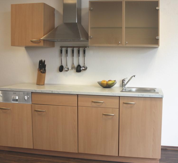 moderne k che k chenblock kompaktk che elster birke neu ebay. Black Bedroom Furniture Sets. Home Design Ideas