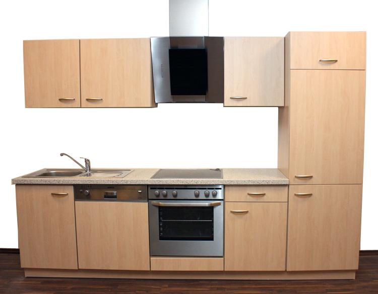 Neu quelle 280cm kuche kuchenblock kuchenzeile for Quelle küchenzeile