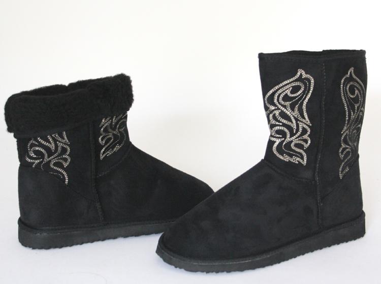 Trendige-Winter-Boots-Stiefel-Fellboots-Winterboots-Stiefelette-warm-Gr-36-41
