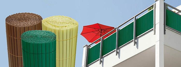 pvc sichtschutzmatte sichtschutz garten zaun windschutz balkonverkleidung ebay. Black Bedroom Furniture Sets. Home Design Ideas