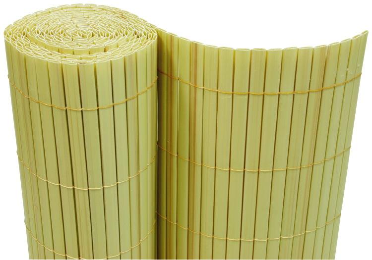 Kunststoff Palisaden Sichtschutz : Sichtschutz Bambus Wie Befestigen  Gestaltung mit Palisaden? Wo man