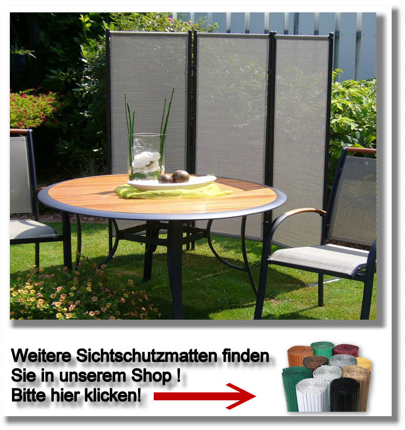 sichtschutz balkon pvc grau innenr ume und m bel ideen. Black Bedroom Furniture Sets. Home Design Ideas