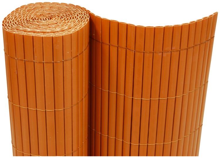 pvc sichtschutzmatte balkon windschutz garten sichtschutz matte zaun terracotta ebay. Black Bedroom Furniture Sets. Home Design Ideas