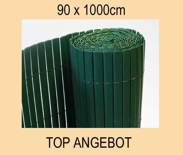PVC-SICHTSCHUTZMATTE-SICHTSCHUTZ-WINDSCHUTZ-90x1000-NEU