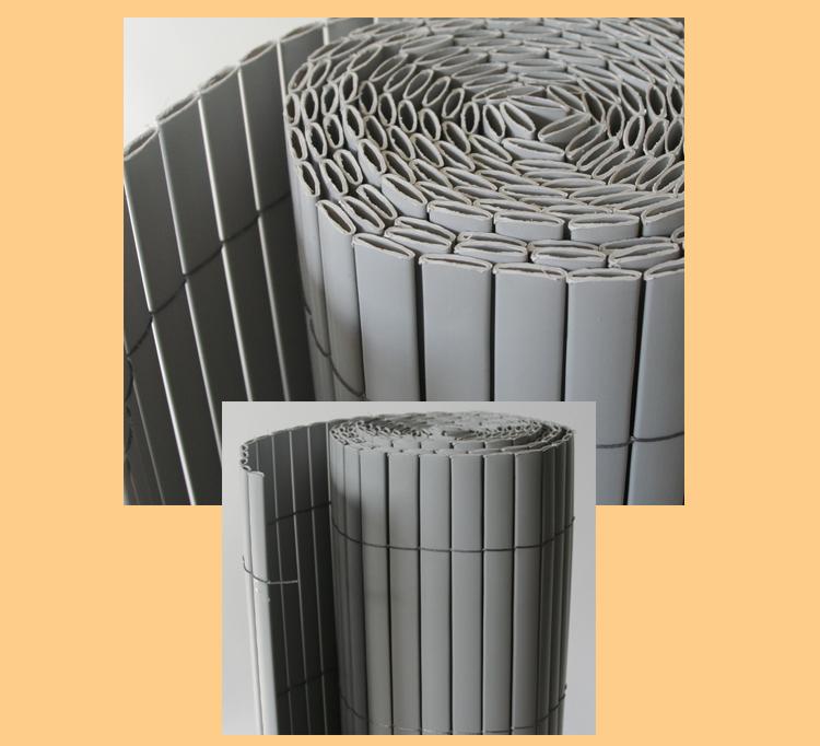 sichtschutzmatte sonnenschutz sichtschutz balkon schutz 100x200 in hellgrau ebay. Black Bedroom Furniture Sets. Home Design Ideas