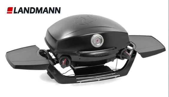kompakter landmann pantera gasgrill outdoor campinggrill bbq grill neu ebay. Black Bedroom Furniture Sets. Home Design Ideas