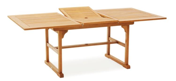 belardo by landmann gartentisch ausziehtisch 150 200x100cm eukalyptus holz tisch kaufen bei. Black Bedroom Furniture Sets. Home Design Ideas